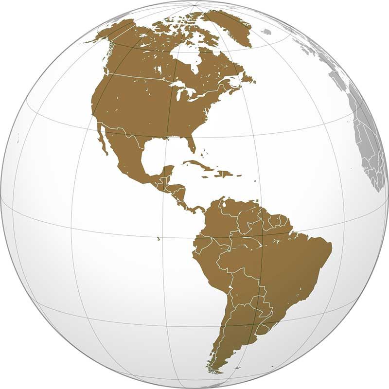 Америка континент