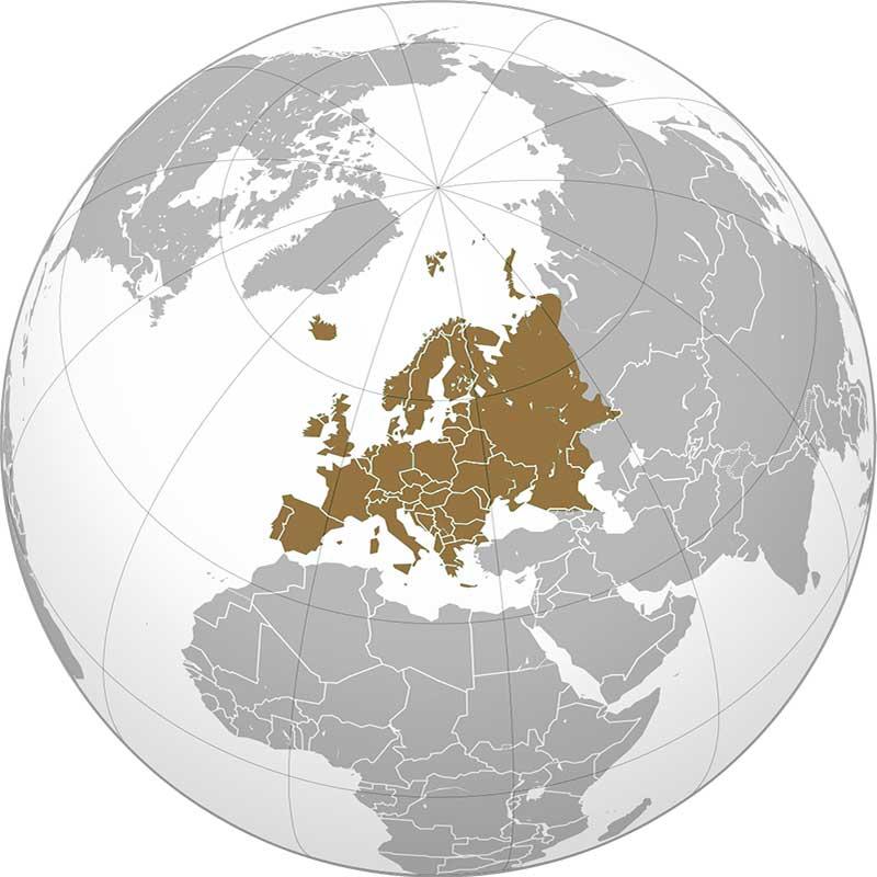 Европа континент