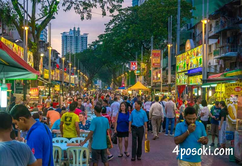 Улица в Куала Лумпур