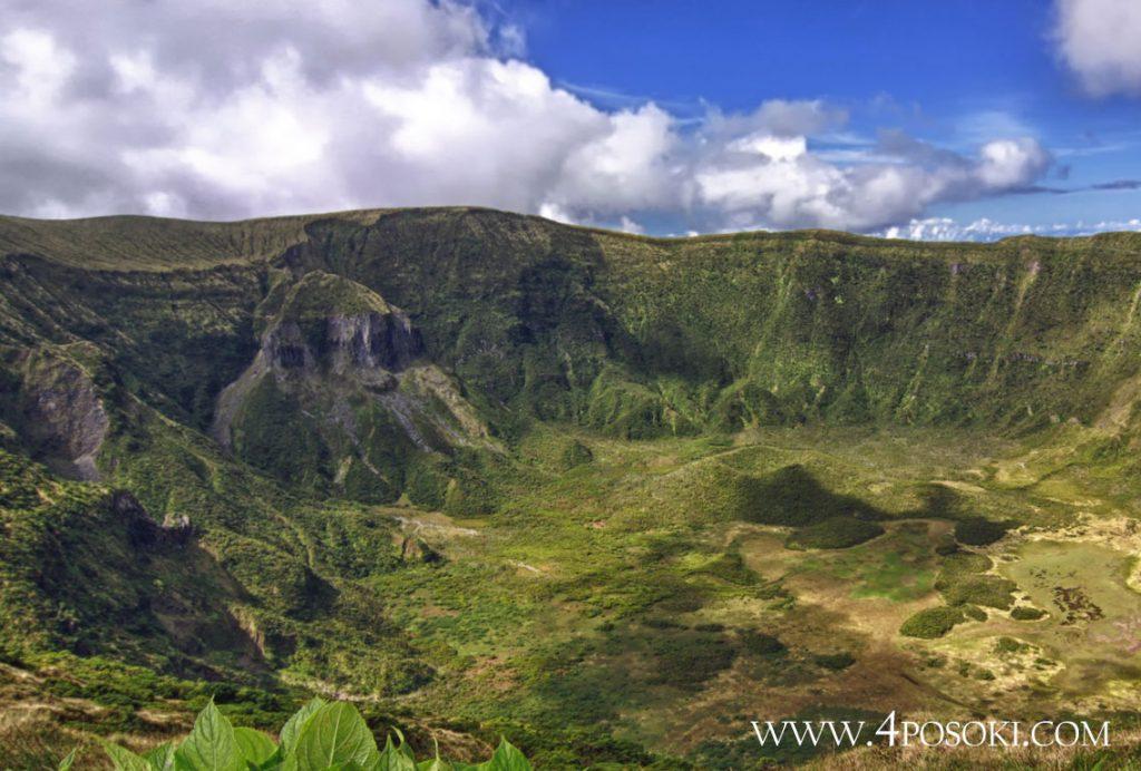 Калдера кратер Азорски острови